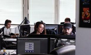 L'école Creative Seeds, à Cesson-Sévigné, près de Rennes, qui prépare aux métiers du cinéma d'animation et du jeu vidéo.