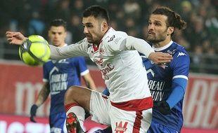 Gaëtan Laborde a offert la victoire aux Girondins à Troyes grâce à son premier but de la saison.