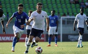 Le Lyonnais Amine Gouiri et ses coéquipiers s'arrêtent aux portes de l'a finale de l'Euro U19.