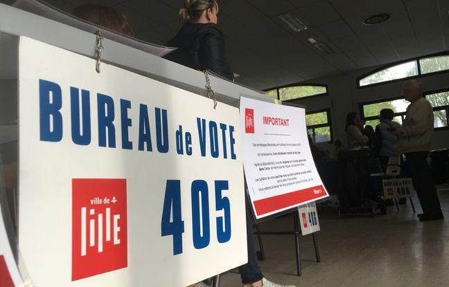 Présidentielle: Les bureaux de vote ferment à 19h00 à Lille