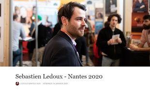 Capture d'écran de la page Facebook Ledoux Nantes 2020