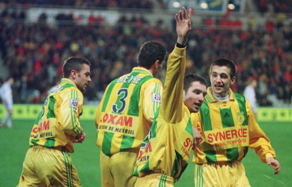 Charles Devineau, le 15 février 2000, lors d'un 6-1 face à... Lyon. – FRANK PERRY / AFP