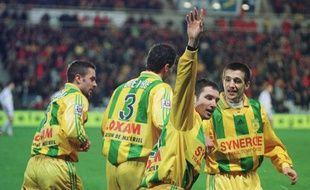 Charles Devineau, le 15 février 2000, lors d'un 6-1 face à... Lyon.