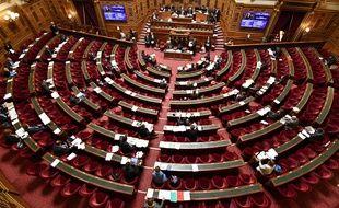 Une séance au Sénat