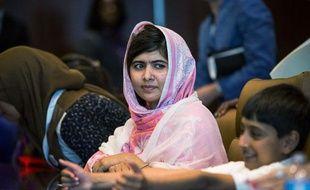 La militante des droits de l'Homme, Malala Yousafzaï, en juillet 2012 à New York.