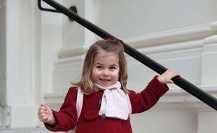 La princesse Charlotte le 8 janvier 2018 à Londres.