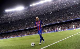 Neymar, au Camp Nou