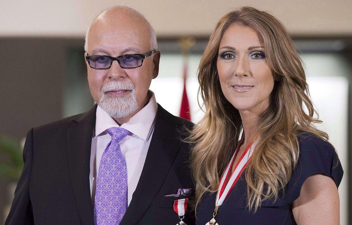 René Angelil et Céline Dion, le 26 juillet 2016. –  JACQUES BOISSINOT/AP/SIPA