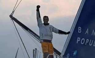 Armel le Cléac'h a remporté le Vendée Globe 2016-17