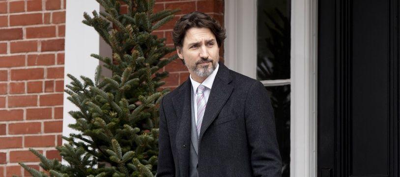 Le Premier ministre canadien Justin Trudeau à Ottawa, le  8 mai 2020.