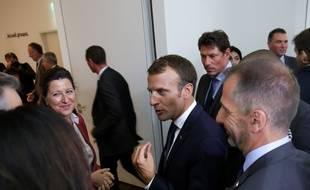 Emmanuel Macron au musée de l'Homme, le 13 septembre 2018.