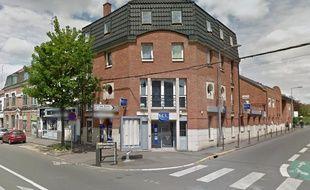 L'agence LCL de Lille-Hellemmes, où un ado a pointé un pistolet à billes pour s'amuser.