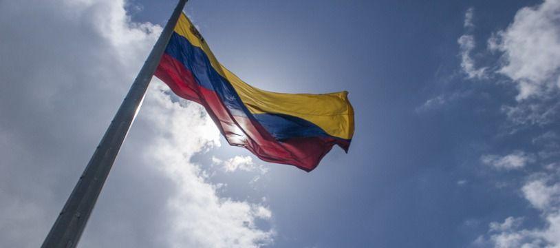 Le drapeau du Venezuela (illustration).