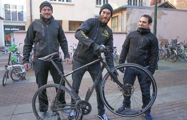 La start-up Cyclofix fête tout juste sa première bougie qu'elle se lance en province (avant l'étranger), Strasbourg en tête !