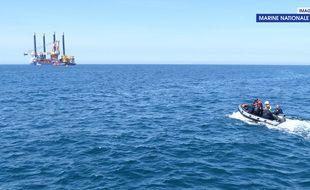 Une pollution a été constatée sur le projet éolien de la baie de Saint-Brieuc.