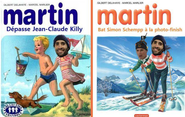 Martin et la concurrence.