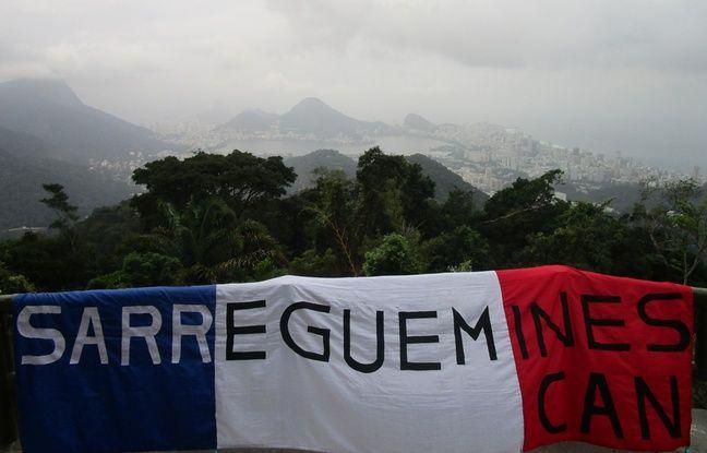 Six mois apr s les jo le mec au drapeau de sarreguemines - Nain de jardin amelie poulain ...