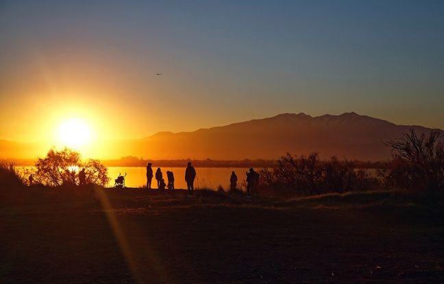 Quelle vision plus douce qu'un coucher de soleil sur la mer ?