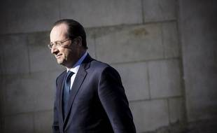 François Hollande, le 21 février 2014.