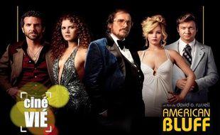 Photomontage réalisé pour l'émission «Ciné Vié» consacrée au film «American Bluff»