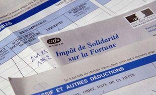 Illustration sur l'impôt de solidarité sur la fortune.