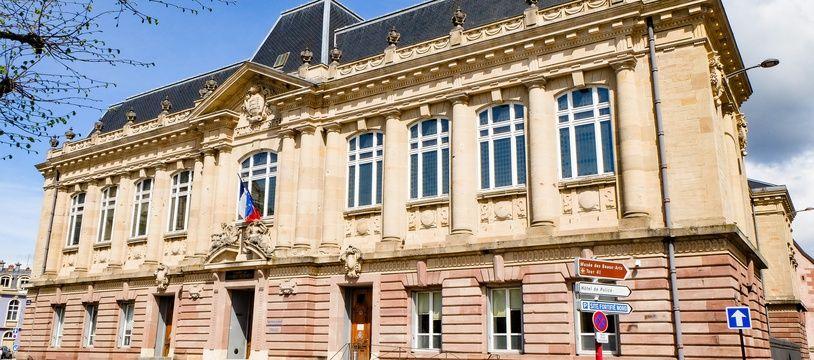 Le tribunal de Belfort.