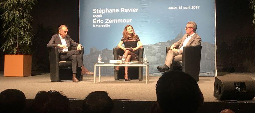 Stéphane Ravier et Eric Zemmour ont conversé pendant plus de deux heures.
