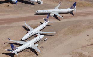 Des appareils de United Airlines.