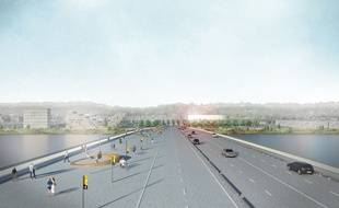 Le pont Simone Veil reliera Bègles à Floirac en 2020