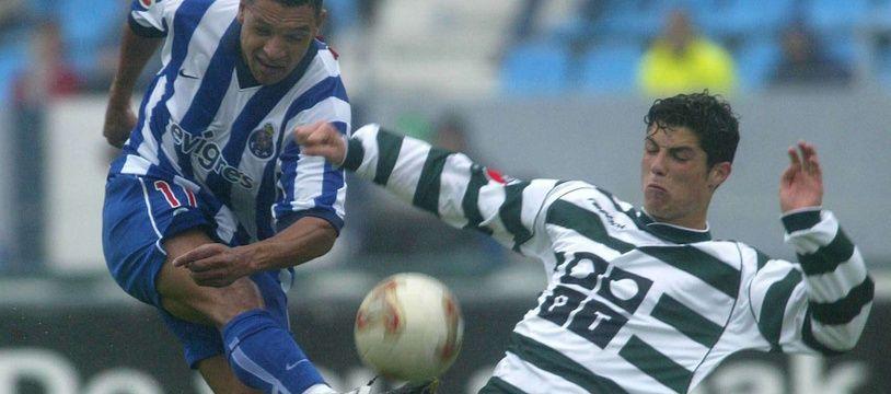 En 2002, le Cristiano Ronaldo du Sporting Lisbonne (17 ans) ne valait pas des centaines de millions d'euros... mais un Tony Vairelles !