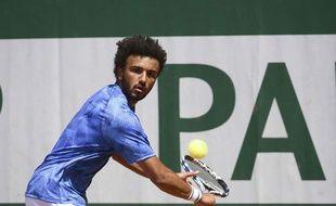 Maxime Hamou, le 27 mai 2017 à Roland-Garros.