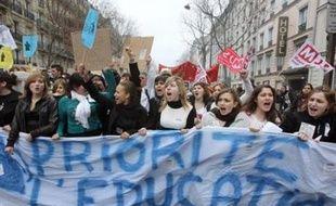Une manifestation du syndicat étudiant Unef en 2008.