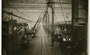Photo d'archives de l'usine Cavrois-Mahieu de Roubaix