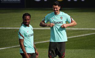 José Fonte et Renato Sacnhes sous les couleurs du Portugal
