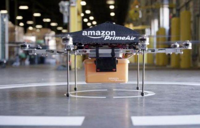 Etats-Unis: Amazon autorisé à tester ses drones de livraison