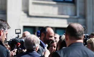 Edouard Philippe a officiellement démissionné de son poste de maire du Havre, le 20 mai 2017.