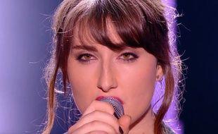 Mélanie, candidate de la saison 12 de «Nouvelle Star» (D8).
