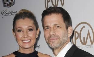 Les époux Deborah et Zac Snyder