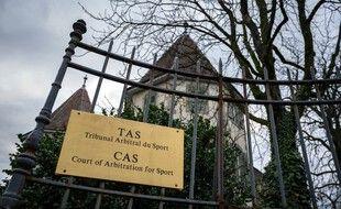 Le tribunal arbitral du sport à Lausanne (Suisse).