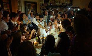 Penélope Cruz en pleine fête pour Everybody Knows d'Asghar Farhadi