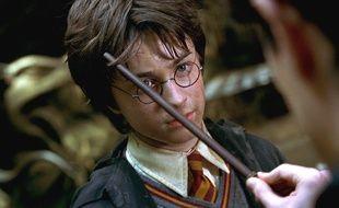 Daniel Radcliffe dans Harry Potter et la chambre des secrets.