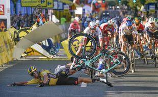 Groenewegen provoque une chute à l'arrivée du Tour de Pologne