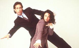 Jerry Seinfeld et Julia Louis-Dreyfus.