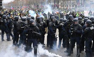 Une partie du dispositif de sécurité prévu dans le cadre de la manifestation du 8 décembre 2018 a fuité sur internet