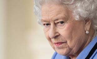 La reine Elizabeth II à Londres le 24 octobre 2018