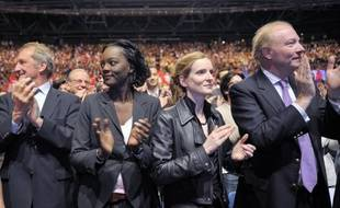 """Nathalie Kosciusko-Morizet, porte-parole de campagne de Nicolas Sarkozy, a souhaité lundi """"une majorité la plus large possible pour l'UMP aux élections législatives"""", pour """"rééquilibrer"""" les pouvoirs après l'élection de François Hollande à la présidence."""