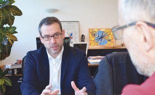 Philippe Rio, maire (PCF) de Grigny
