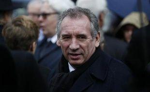 Francois Bayrou le 8 décembre 2014 à Paris