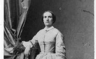 Julie-Victoire Daubié en 1861.