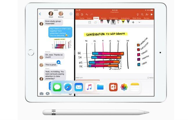 Le stylet Apple Pencil n'était jusqu'alors réservé aux iPad Pro.